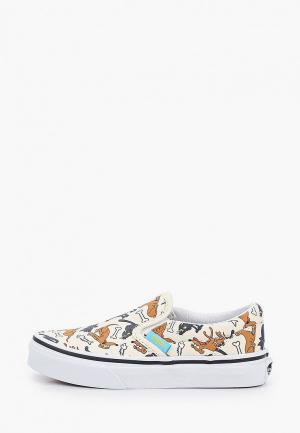 Слипоны Vans UY Classic Slip-On (The Simpsons) Family Pets. Цвет: бежевый