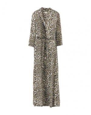 Длинное платье EMMA & GAIA. Цвет: слоновая кость