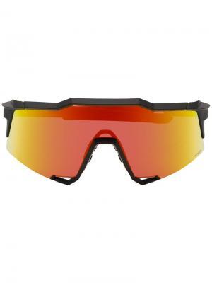 Солнцезащитные очки SpeedCraft 100% Eyewear. Цвет: черный