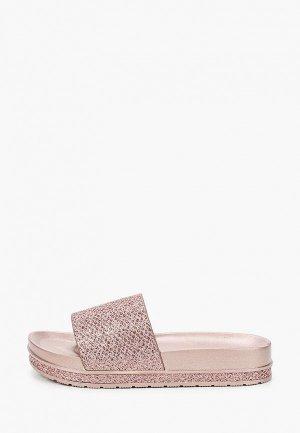 Сланцы Mon Ami. Цвет: розовый