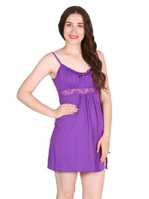 Ночная сорочка Flip. Цвет: фиолетовый