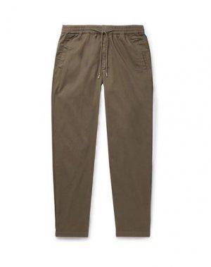 Повседневные брюки FOLK. Цвет: зеленый-милитари