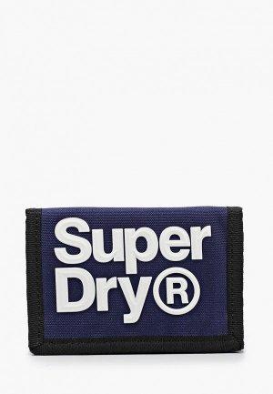 Кошелек Superdry. Цвет: синий