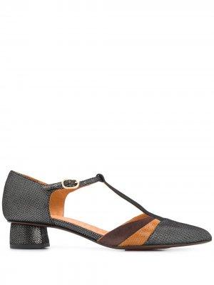 Туфли Yois с заостренным носком Chie Mihara. Цвет: черный