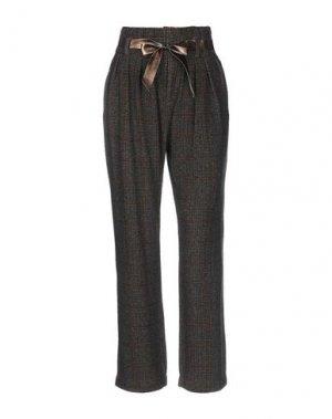 Повседневные брюки BRAND UNIQUE. Цвет: коричневый