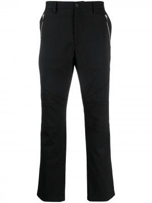 Строгие брюки прямого кроя Just Cavalli. Цвет: черный