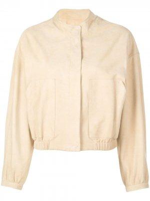 Куртка-бомбер Sam Lth Jkt. Цвет: нейтральные цвета