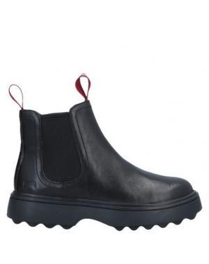 Полусапоги и высокие ботинки CAMPER. Цвет: черный