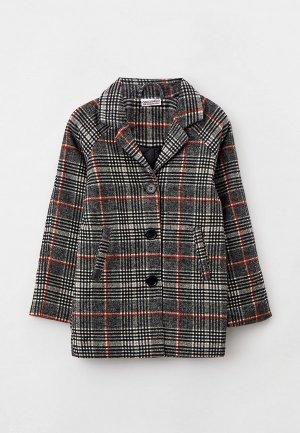 Пальто Coccodrillo. Цвет: серый