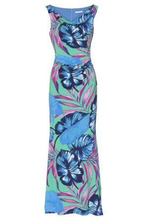 Платье Gina Bacconi. Цвет: blue, red