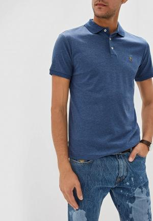 Поло Polo Ralph Lauren SLIM FIT. Цвет: синий