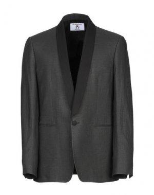Пиджак ALL APOLOGIES. Цвет: стальной серый