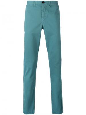 Классические брюки-чинос Michael Kors. Цвет: зелёный