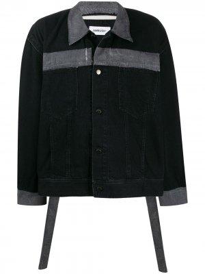Джинсовая куртка Reflector Ambush. Цвет: черный