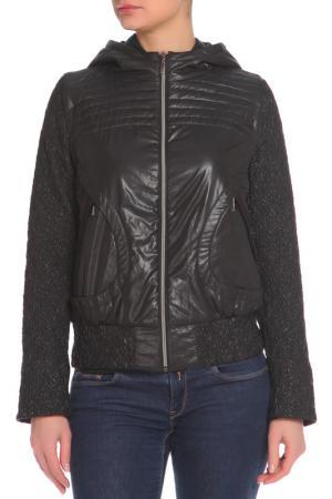 Куртка L-Design. Цвет: черный