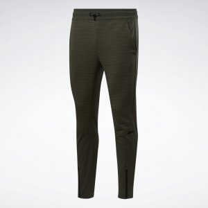 Спортивные брюки rmowarm Deltapeak Reebok. Цвет: poplar green