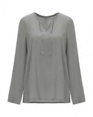 Блузка CAPPELLINI by PESERICO. Цвет: серый