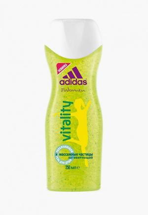 Гель для душа adidas Shower Gel Female, 250 мл vitality. Цвет: прозрачный