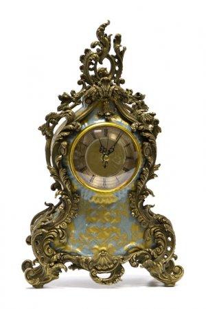 Часы ГЛАСАР. Цвет: голубой, золотой