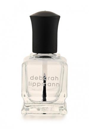Базовое покрытие Deborah Lippmann база для ногтей Fast Girls Base Coat. Цвет: белый