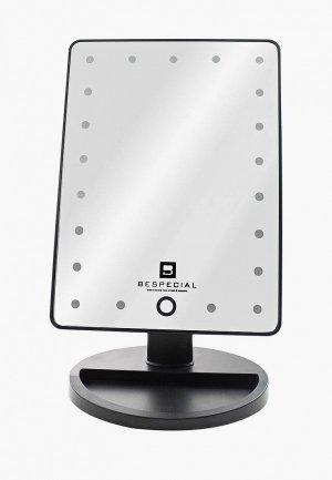 Зеркало Bespecial настольное с подсветкой и сенсорным управлением. Цвет: прозрачный