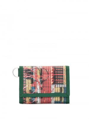 Бумажник с узором UNDERCOVER. Цвет: разноцветный