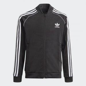 Олимпийка Adicolor SST Originals adidas. Цвет: черный