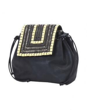 Рюкзаки и сумки на пояс CHIARA P. Цвет: черный