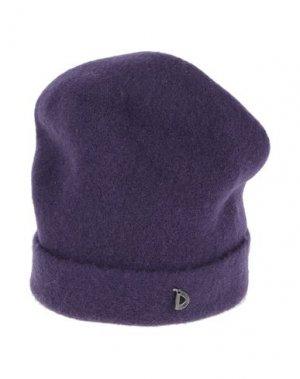 Головной убор DIXIE. Цвет: фиолетовый