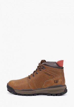 Ботинки Caterpillar COHESION ICE+ WP TX. Цвет: коричневый