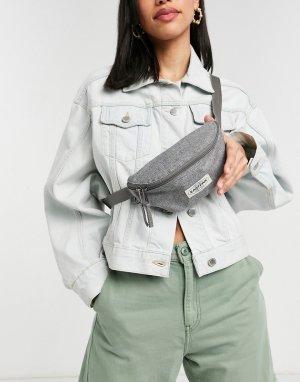 Серая сумка-кошелек на пояс Springer-Серый Eastpak