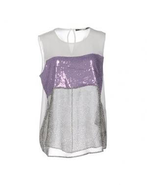 Топ без рукавов ANNARITA N. Цвет: фиолетовый