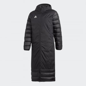 Пуховик Winter Performance adidas. Цвет: черный