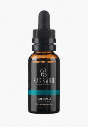 Масло для бороды Barbaro Парфюмированное Emerald, 30 мл. Цвет: прозрачный