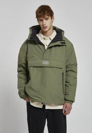 Куртка утепленная Pull&Bear STAR WARS Join life. Цвет: хаки