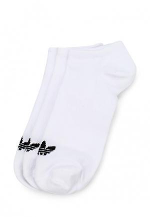 Комплект adidas Originals TREFOIL LINER. Цвет: белый