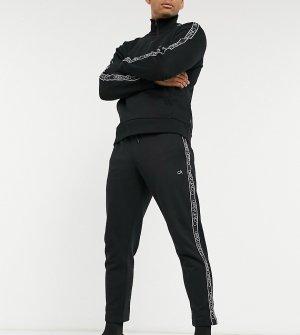 Эксклюзивные черные джоггеры с фирменной лентой -Черный Calvin Klein