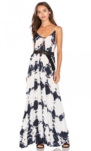 Макси платье desert Blue Life. Цвет: синий