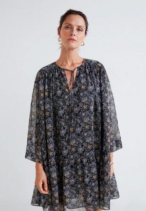 Платье Mango - VIVITO. Цвет: серый