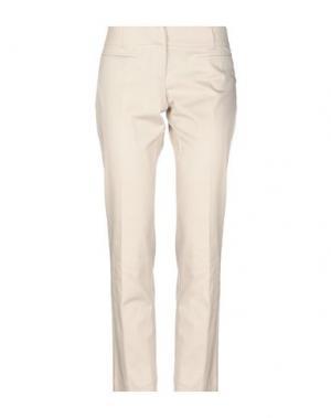 Повседневные брюки DIVINA. Цвет: светло-серый
