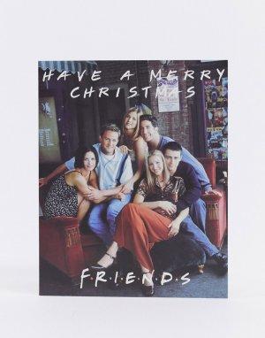 Новогодняя открытка Typo x Friends-Мульти