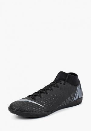 Бутсы зальные Nike SuperflyX 6 Academy IC Indoor/Court Football Boot. Цвет: черный