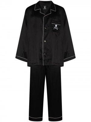 Пижамный комплект Mastermind Japan. Цвет: черный