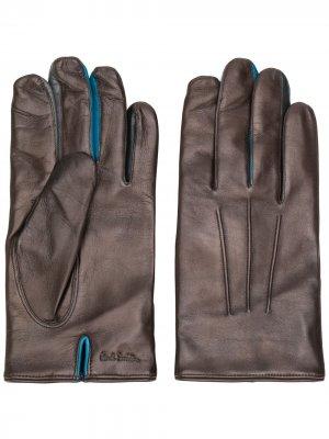 Классические перчатки Paul Smith. Цвет: коричневый