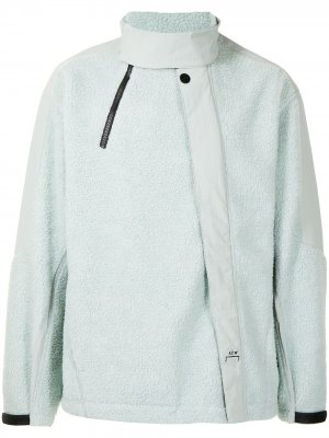 Флисовая куртка со вставками A-COLD-WALL*. Цвет: зеленый