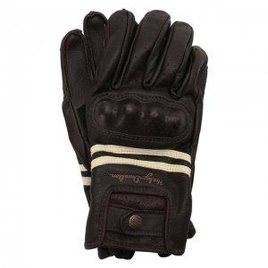 Кожаные перчатки Genuine Motorclothes Harley-Davidson. Цвет: чёрный