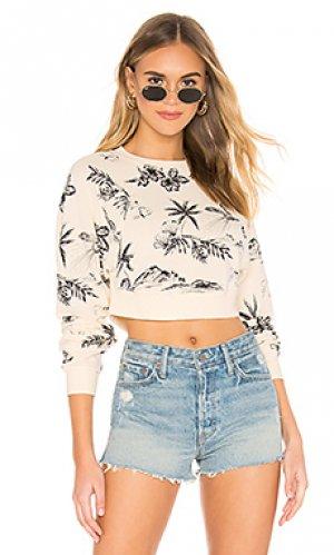 Пуловер poppy Free People. Цвет: ivory