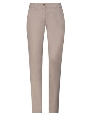 Повседневные брюки GALLIANO. Цвет: хаки