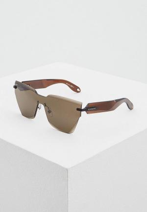 Очки солнцезащитные Givenchy GV 7081/S 09Q. Цвет: коричневый
