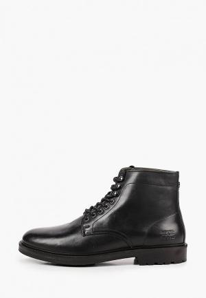 Ботинки Barbour Seaburn Derby. Цвет: черный